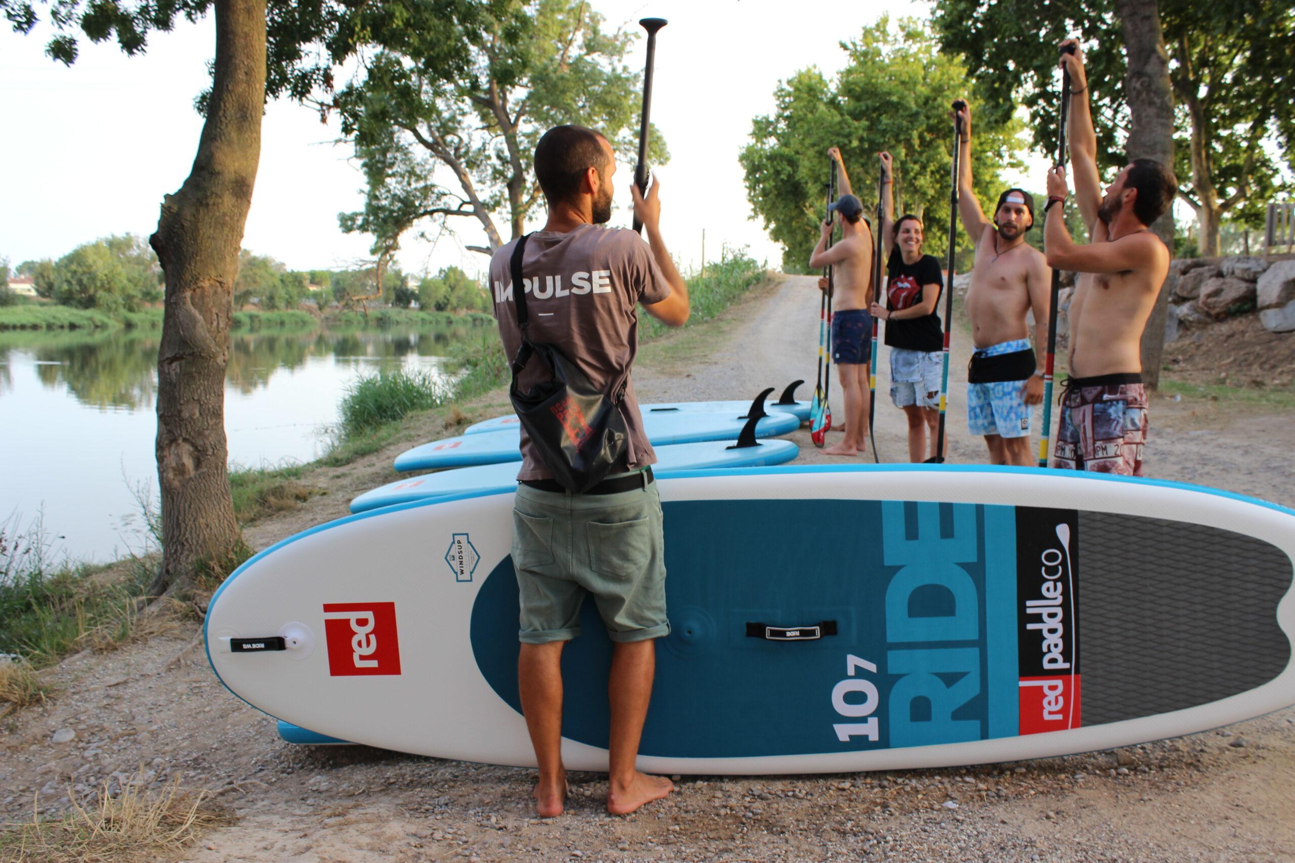 Curso Paddle Surf Girona
